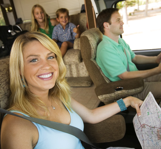 Family Vacationing In RV